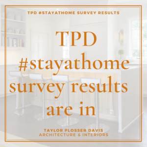 TPD #stayathome Survey Results Are In