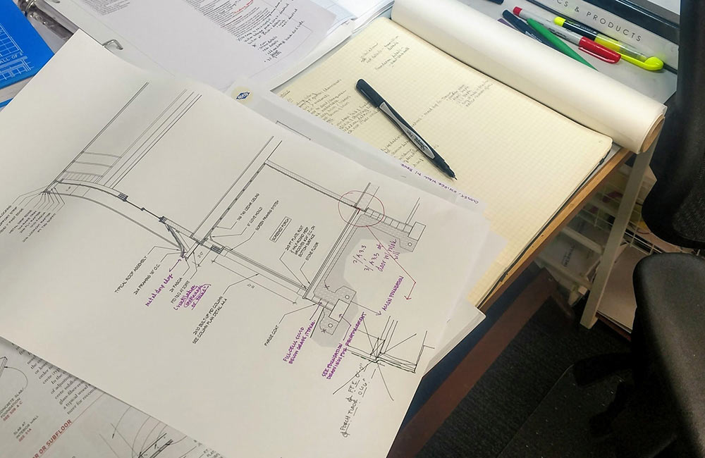 Solutions on paper are less expensive than solutions during construction