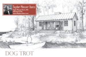 Tiny Dog Trot House